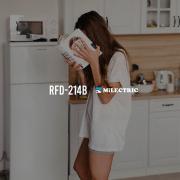 Tu nuevo mejor amigo.   Frigorífico Combi RFD-214B   www.milectric.com   #fridge #novedad #home #electrodomesticos #diseñadoenespaña #spain #homeappliances
